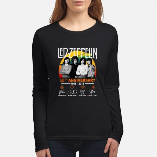 Funny Led Zeppelin 50th anniversary 1968 2018 signatures shirt 3 1 510x510 - Funny Led Zeppelin 50th anniversary 1968-2018 signatures shirt