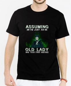 Funny Maleficent Assuming i m just an old lady was your first mistake shirt 2 1 247x296 - Funny Maleficent Assuming i'm just an old lady was your first mistake shirt