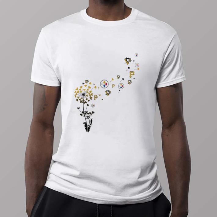 official photos 32a6a 56155 Funny Pittsburgh Steeler Pittsburgh Pirates Pittsburgh Penguins dandelion  shirt