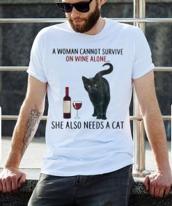 Hot A Woman Cannot Survive On Wine Alone She Also Needs A Cat shirt 2 1 247x296 - Hot A Woman Cannot Survive On Wine Alone She Also Needs A Cat shirt