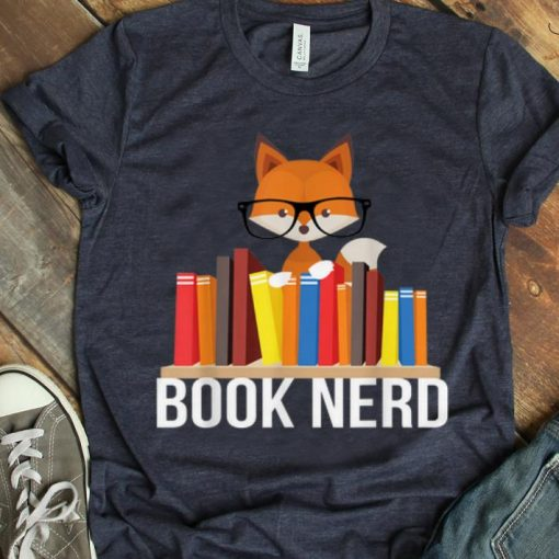Hot Book Nerd Fox Animal Lovers Cute Funny Reading Geek shirt 1 1 510x510 - Hot Book Nerd Fox Animal Lovers Cute Funny Reading Geek shirt