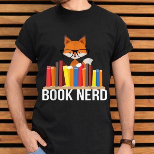 Hot Book Nerd Fox Animal Lovers Cute Funny Reading Geek shirt 2 1 510x510 - Hot Book Nerd Fox Animal Lovers Cute Funny Reading Geek shirt