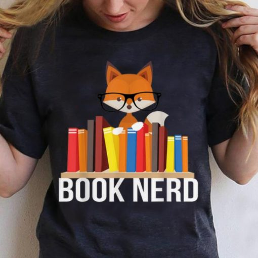 Hot Book Nerd Fox Animal Lovers Cute Funny Reading Geek shirt 3 1 510x510 - Hot Book Nerd Fox Animal Lovers Cute Funny Reading Geek shirt