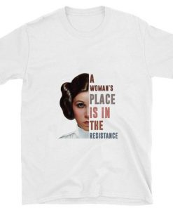 Hot Carrie Fisher A woman s place is in the resistance shirt 1 1 247x296 - Hot Carrie Fisher A woman's place is in the resistance shirt
