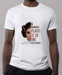Hot Carrie Fisher A woman s place is in the resistance shirt 2 1 247x296 - Hot Carrie Fisher A woman's place is in the resistance shirt