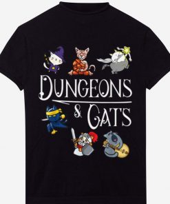 Hot Dungeons and Cats Cartoon Character Cat Lover shirt 1 1 247x296 - Hot Dungeons and Cats Cartoon Character Cat Lover shirt