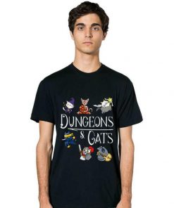 Hot Dungeons and Cats Cartoon Character Cat Lover shirt 2 1 247x296 - Hot Dungeons and Cats Cartoon Character Cat Lover shirt