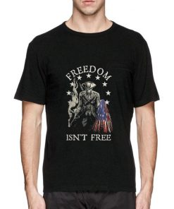Hot Freedom isn t free American flag shirt 2 1 247x296 - Hot Freedom isn't free American flag shirt
