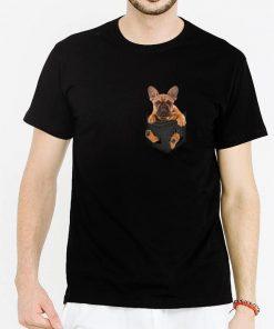 Hot French Bulldog inside pocket shirt 2 1 247x296 - Hot French Bulldog inside pocket shirt