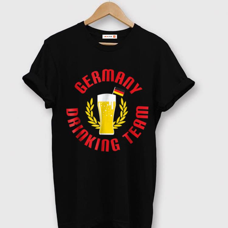 Hot Germany Team Drinking Beer shirt
