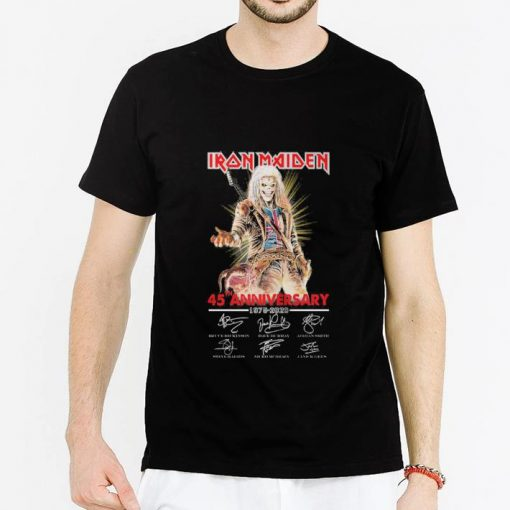 Hot Iron Maiden 45th anniversary 1975 2020 signatures shirt 2 1 510x510 - Hot Iron Maiden 45th anniversary 1975-2020 signatures shirt