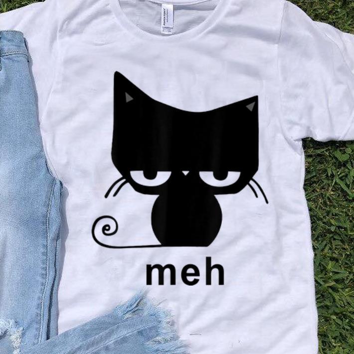 Hot Meh Black Cat shirt