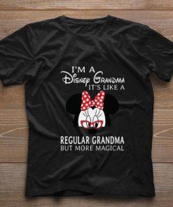 Hot Minnie mouse I m a Disney Grandma it s like a regular grandma but more magical shirt 1 1 247x296 - Hot Minnie mouse I'm a Disney Grandma it's like a regular grandma but more magical shirt