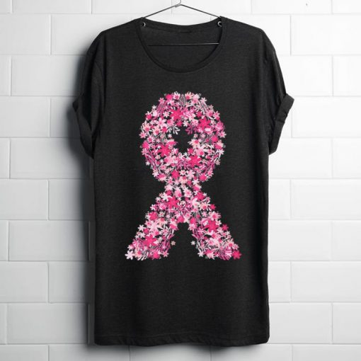 Hot Pink Flowers Ribbon Breast Cancer Awareness shirt 1 1 510x510 - Hot Pink Flowers Ribbon Breast Cancer Awareness shirt