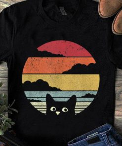 Hot Retro Vintage Sunset Cat My Cat Looking On You shirt 1 1 247x296 - Hot Retro Vintage Sunset Cat My Cat Looking On You shirt