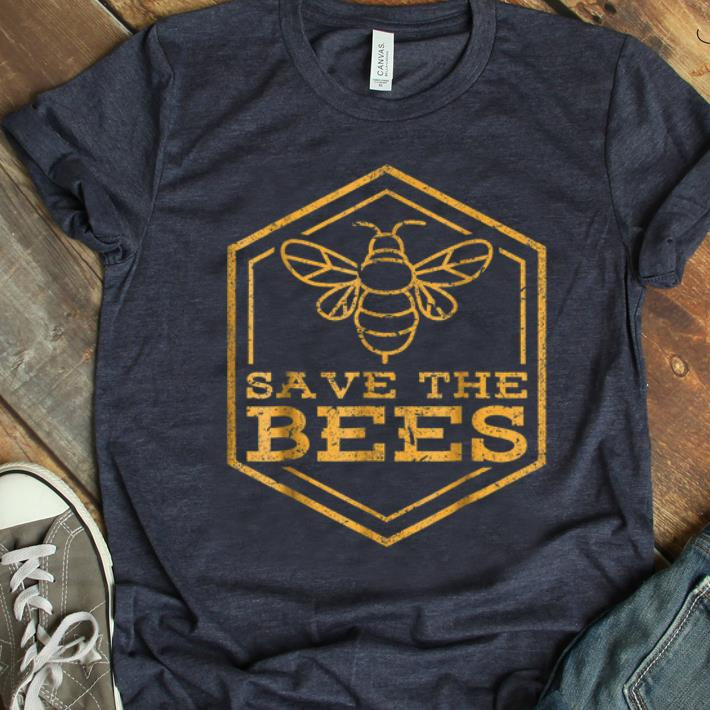 Hot Save The Bees Endangered Bees Beekeeper shirt