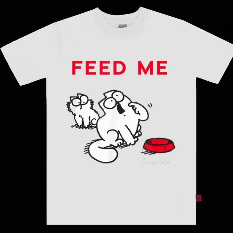 Hot Simon's Cat Feed Me Feed The Cat shirt