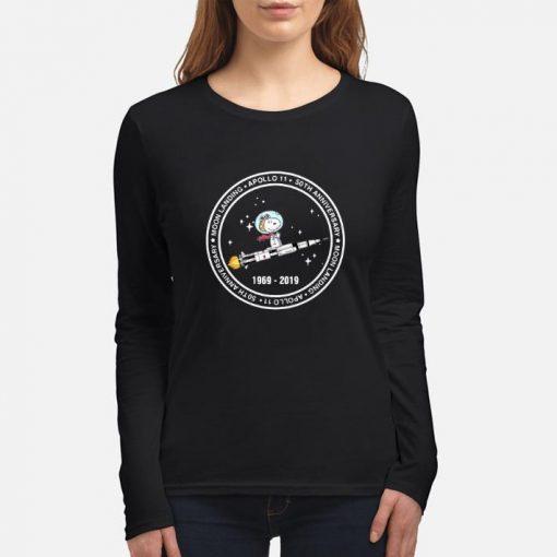 Hot Snoopy moon landing Apollo 11 50th anniversary 1969 2019 shirt 3 1 510x510 - Hot Snoopy moon landing Apollo 11 50th anniversary 1969-2019 shirt