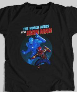 Hot Spider Man The World Needs Next Iron Man Marvel shirt 1 1 247x296 - Hot Spider Man The World Needs Next Iron Man Marvel shirt