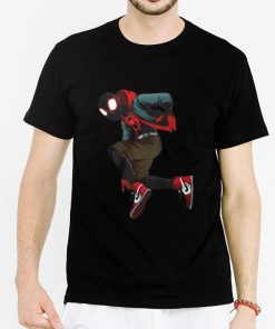 Hot Spider Verse Miles Morales shirt 2 1 247x296 - Hot Spider-Verse Miles Morales shirt