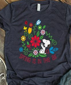 Hot Spring Is In The Air Peanuts Snoopy And Flower Woodstock shirt 1 1 247x296 - Hot Spring Is In The Air Peanuts Snoopy And Flower Woodstock shirt
