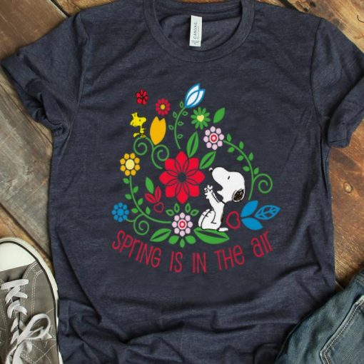 Hot Spring Is In The Air Peanuts Snoopy And Flower Woodstock shirt 1 1 510x510 - Hot Spring Is In The Air Peanuts Snoopy And Flower Woodstock shirt