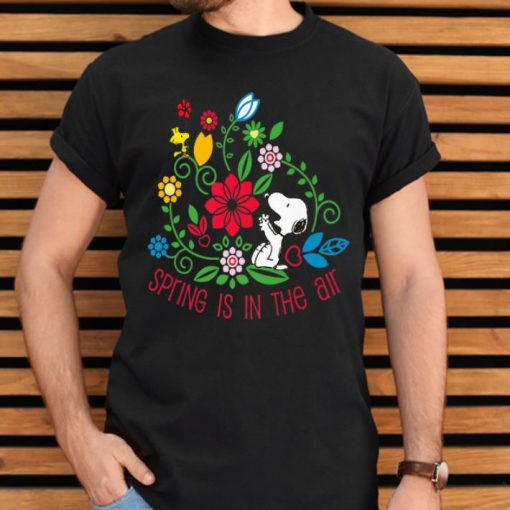 Hot Spring Is In The Air Peanuts Snoopy And Flower Woodstock shirt 2 1 510x510 - Hot Spring Is In The Air Peanuts Snoopy And Flower Woodstock shirt