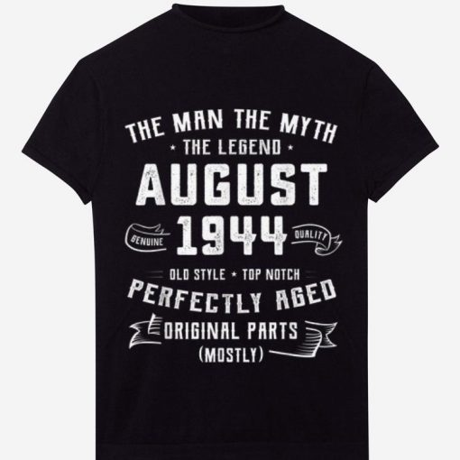 Hot The Man Myth Legend August 1944 Birthday 75 Years Old shirt 1 1 510x510 - Hot The Man Myth Legend August 1944 Birthday 75 Years Old shirt
