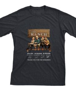 Hot The Ranch signatures thank you for the memories shirt 1 1 247x296 - Hot The Ranch signatures thank you for the memories shirt