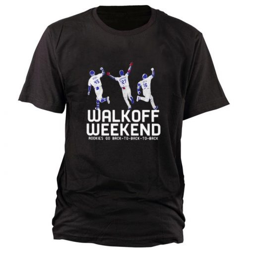 Hot Walk off weekend Rookies go back to back to back shirt 1 1 510x510 - Hot Walk off weekend Rookies go back to back to back shirt