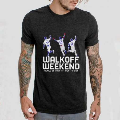Hot Walk off weekend Rookies go back to back to back shirt 2 1 510x510 - Hot Walk off weekend Rookies go back to back to back shirt