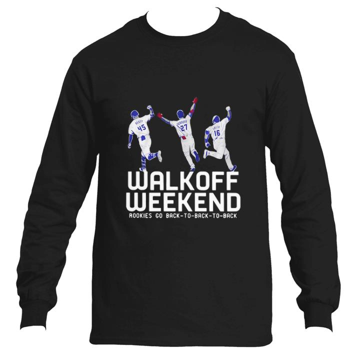Hot Walk off weekend Rookies go back to back to back shirt