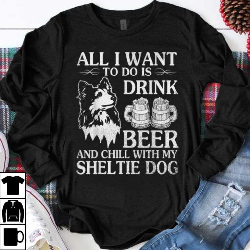 Hot trend All I Want To Do Is Drink Beer Chill With My Sheltie sweater 1 1 510x510 - Hot trend All I Want To Do Is Drink Beer Chill With My Sheltie sweater