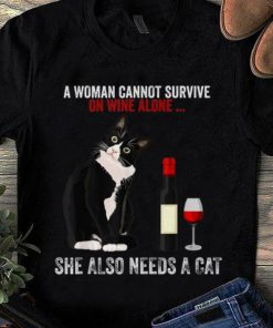 Nice A Women Cannot Survive On Wine Alone She Also Need Cats shirt 1 1 247x296 - Nice A Women Cannot Survive On Wine Alone She Also Need Cats shirt