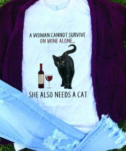 Nice price A Woman Cannot Survive On Wine Alone She Also Need A Cat shirt 1 1 247x296 - Nice price A Woman Cannot Survive On Wine Alone She Also Need A Cat shirt