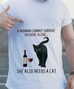 Nice price A Woman Cannot Survive On Wine Alone She Also Need A Cat shirt 2 1 247x296 - Nice price A Woman Cannot Survive On Wine Alone She Also Need A Cat shirt