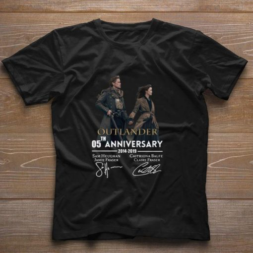 Official 05th anniversary Outlander 2014 2019 signatures shirt 1 1 510x510 - Official 05th anniversary Outlander 2014-2019 signatures shirt