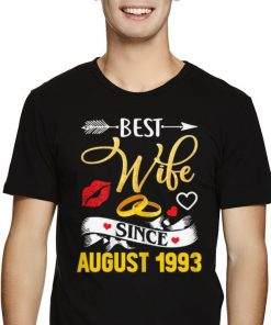 Official 26th Wedding Anniversary Best Wife Since 1993 shirt 2 1 247x296 - Official 26th Wedding Anniversary Best Wife Since 1993 shirt