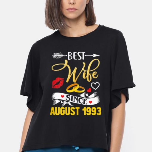 Official 26th Wedding Anniversary Best Wife Since 1993 shirt 3 1 510x510 - Official 26th Wedding Anniversary Best Wife Since 1993 shirt