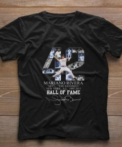 Official 42 Mariano Rivera Mo The Sandman New York 1995 2013 Hall Of Fame shirt 1 1 247x296 - Official 42 Mariano Rivera Mo The Sandman New York 1995-2013 Hall Of Fame shirt