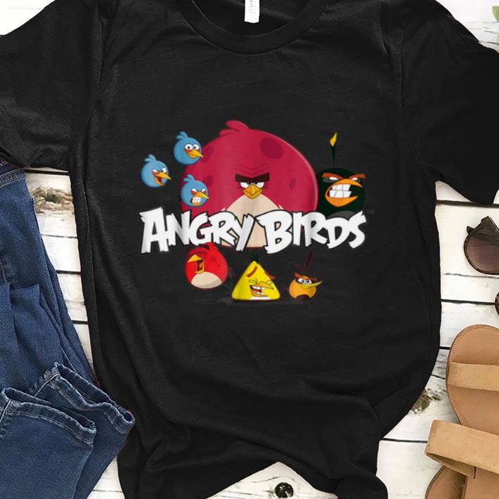 Official Angry Birds Group Shot shirt