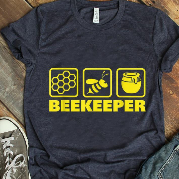 Official Beekeeper Beekeeping Honeybee Icons shirt