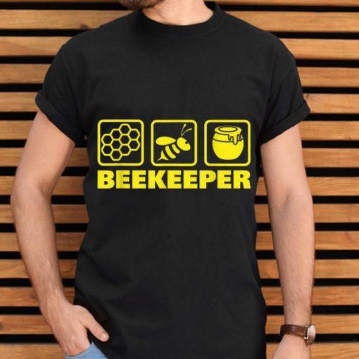 Official Beekeeper Beekeeping Honeybee Icons shirt 2 1 510x510 - Official Beekeeper Beekeeping Honeybee Icons shirt
