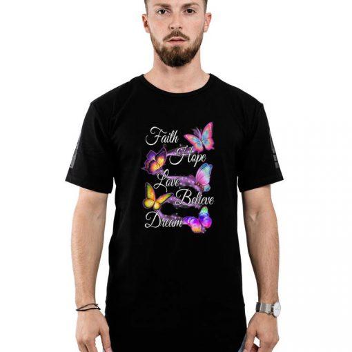 Official Faith Hope Love Believe Dream Colorful Butterfly shirt 2 1 510x510 - Official Faith Hope Love Believe Dream Colorful Butterfly shirt