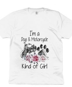 Official Flower I m a dog motorcycle kind of girl shirt 1 1 247x296 - Official Flower I'm a dog & motorcycle kind of girl shirt