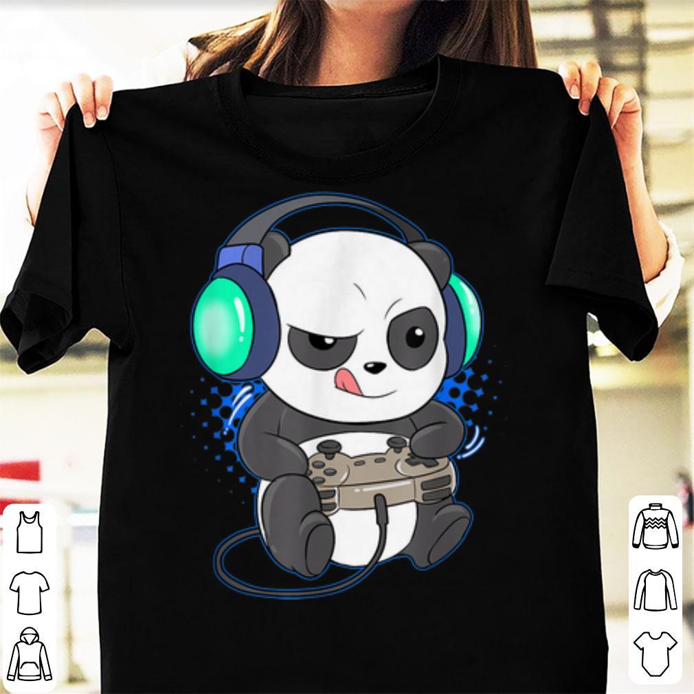 Official Gaming Panda Computer Player Videogame shirt