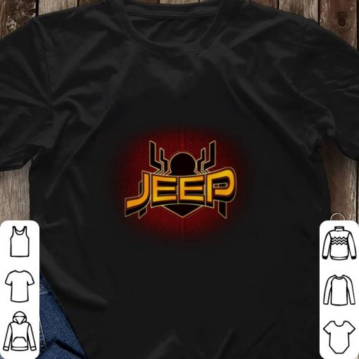 Official Jeep Spider Man Far From Home shirt 3 1 510x510 - Official Jeep Spider Man Far From Home shirt