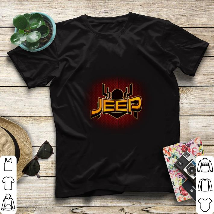 Official Jeep Spider Man Far From Home shirt