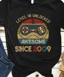 Official Level 10 Unlocked Legendary Awesome Since 2009 Game Player shirt 1 1 247x296 - Official Level 10 Unlocked Legendary Awesome Since 2009 Game Player shirt