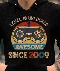 Official Level 10 Unlocked Legendary Awesome Since 2009 Game Player shirt 2 1 247x296 - Official Level 10 Unlocked Legendary Awesome Since 2009 Game Player shirt